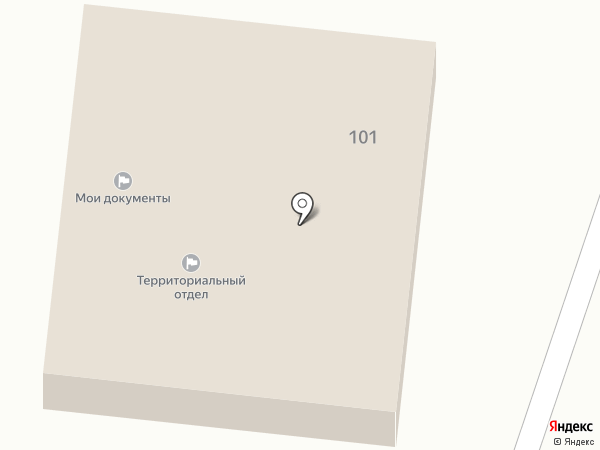Администрации сельского поселения Ивановское на карте