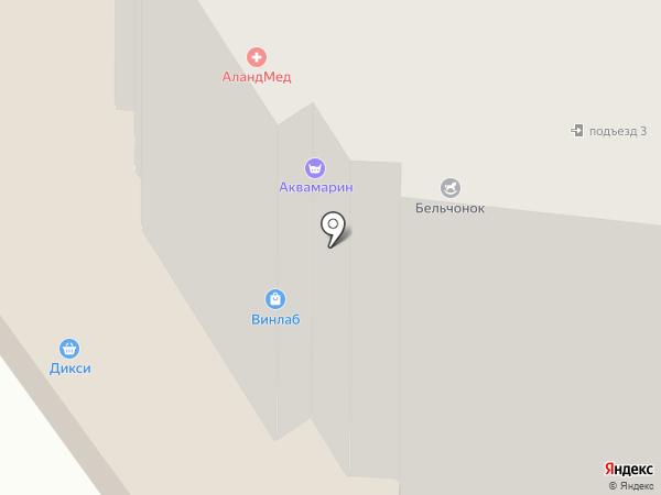 Модная точка на карте