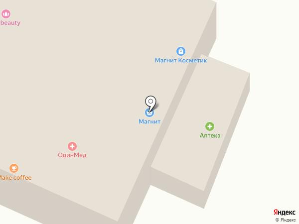 Калининец на карте
