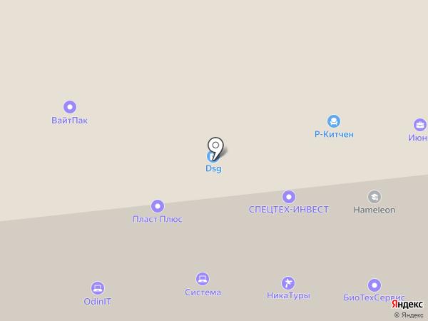 Madex на карте