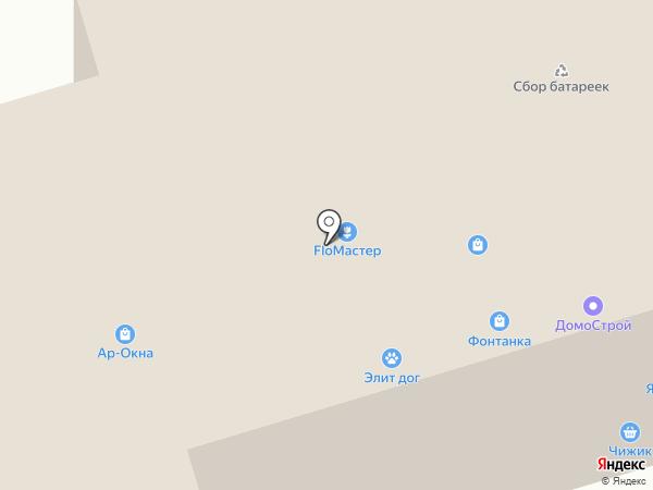 Фонтанка на карте