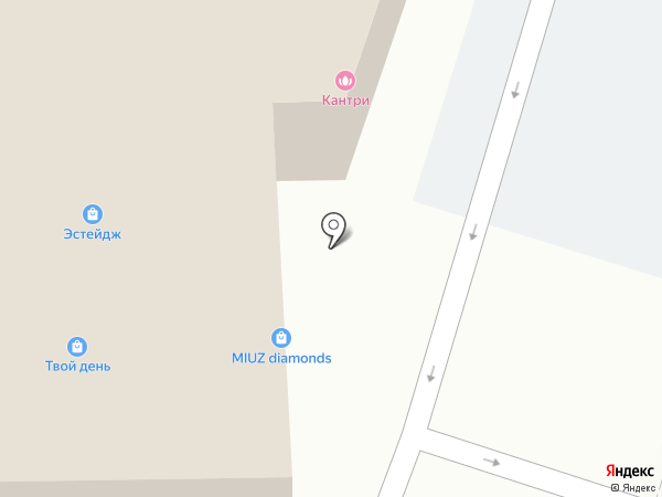 Долина моды на карте