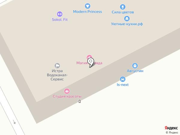 REM на карте