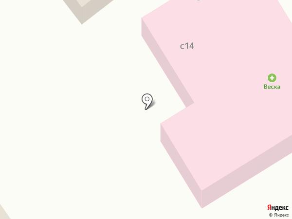 Веска на карте