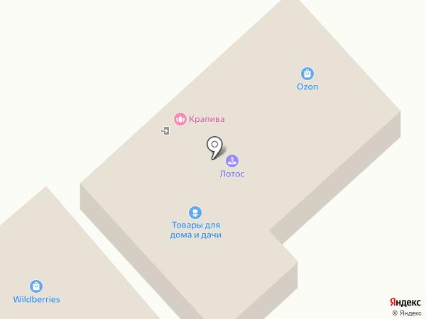 Домовенок на карте