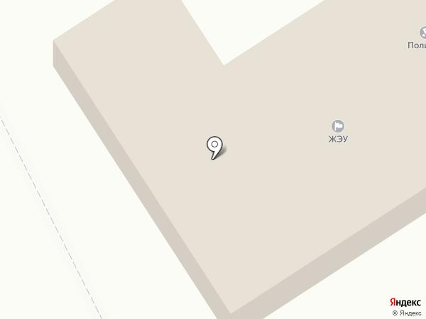 Территориальный пункт полиции Поварово на карте