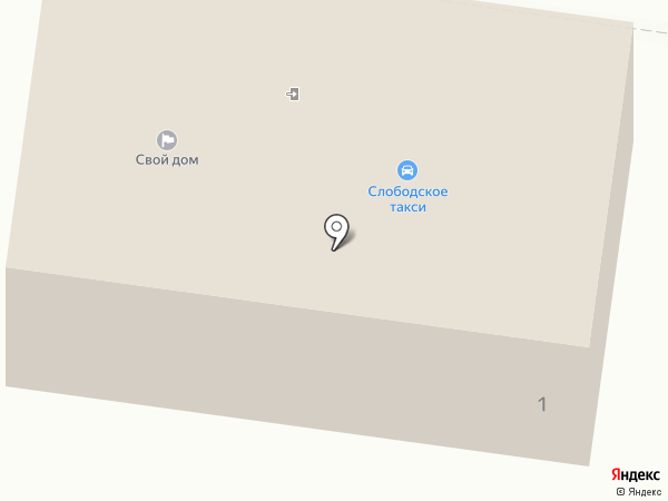 Автосервис в Павловской Слободе на карте