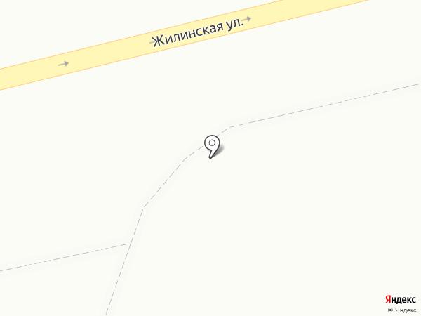 На Аднреевке на карте