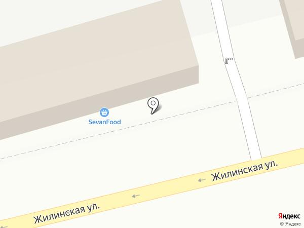 Любимый ноготок на карте