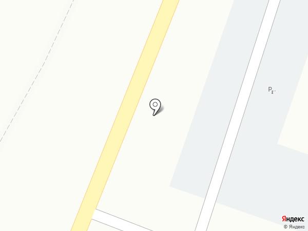 Служба доставки пиццы и суши на карте