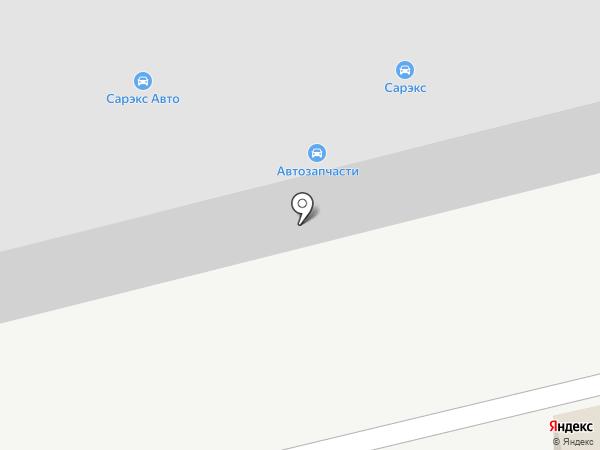 Сарекс на карте