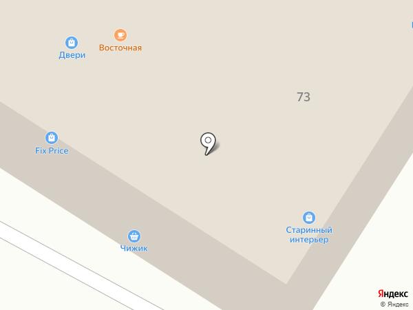 На Советской на карте