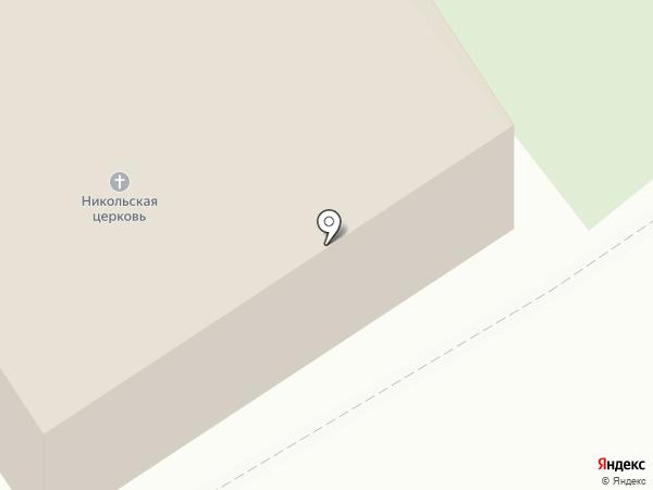 Храм Николая Чудотворца в Николо-Урюпино на карте