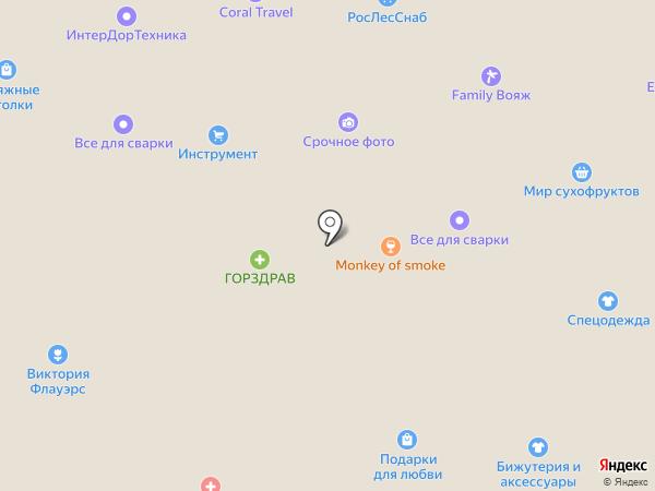 Кифа на карте