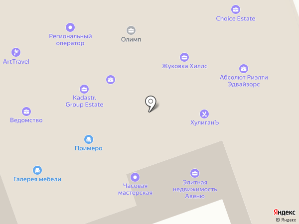 Лига Ставок на карте