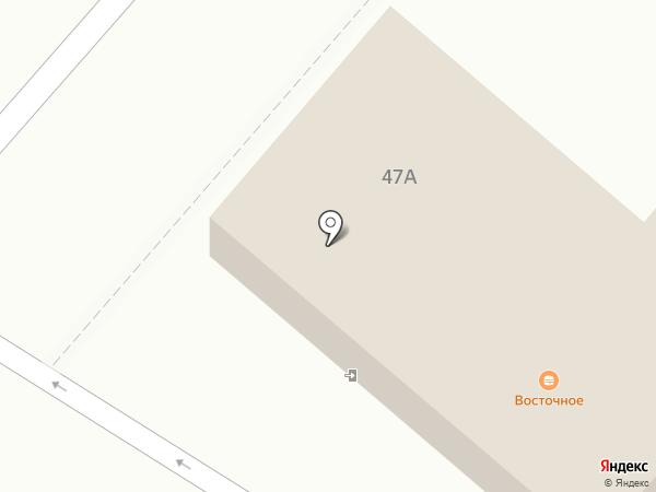 Капелька на карте
