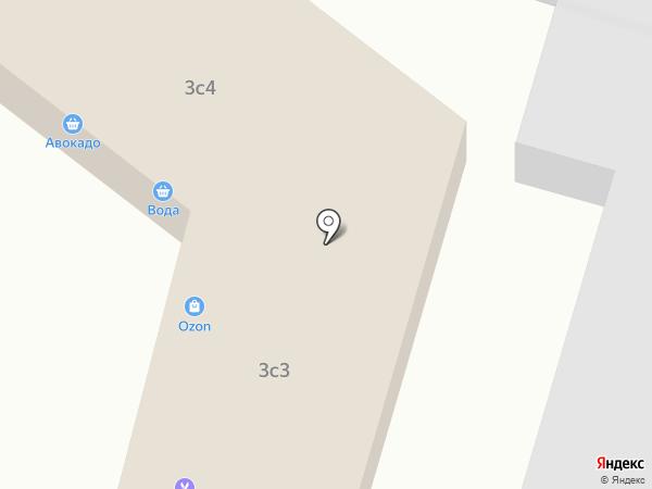 Русская изба на карте