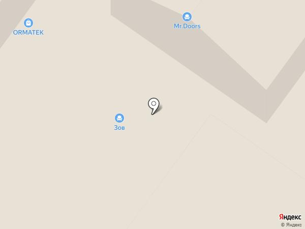 Орматек на карте