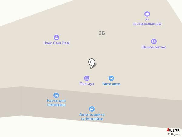 Помощь студентам на карте