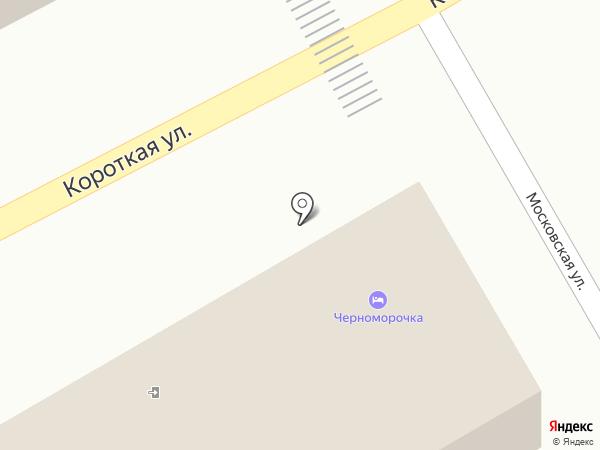 Черноморочка на карте