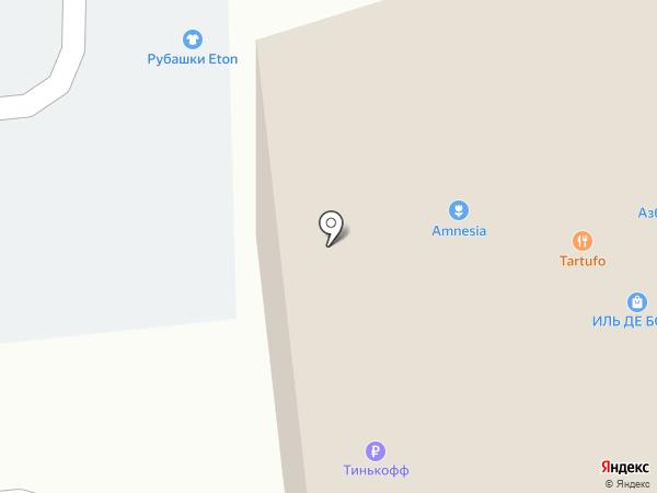 Цифровой на карте