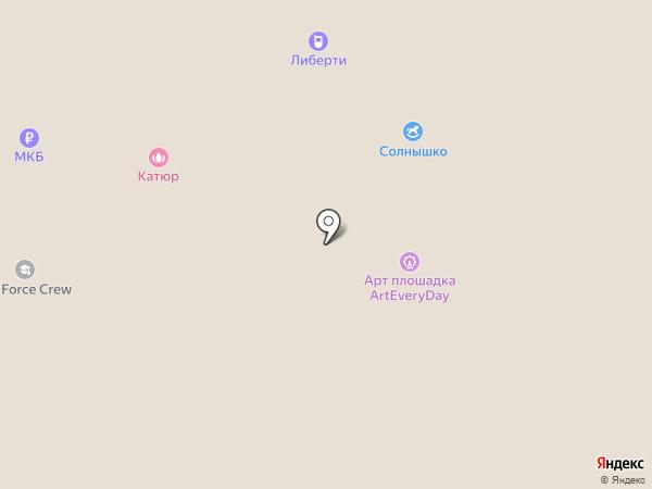 Одинцовский пассаж на карте