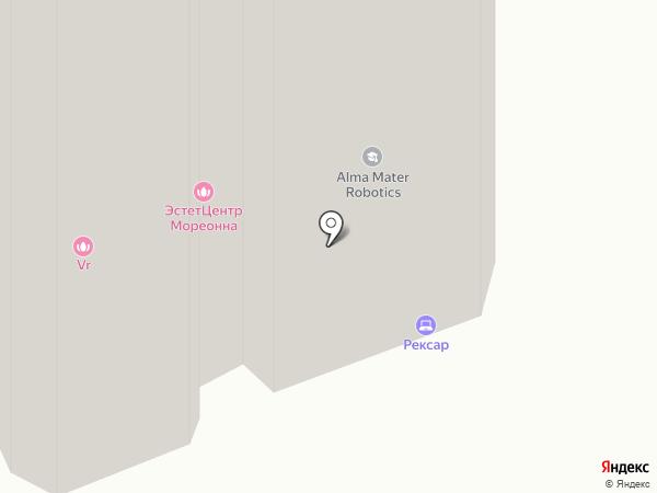 Воздух Парижа на карте