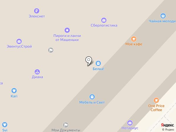 МЭК на карте