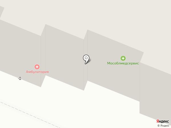 Архангельская амбулатория на карте