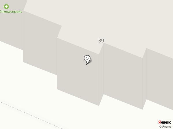 Подъёмник на карте