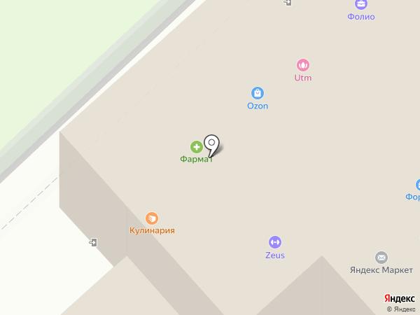 Орион на карте