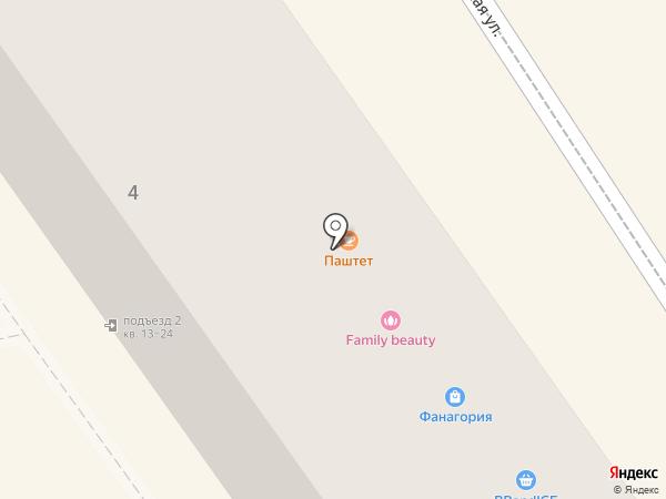 Янтарный ларец на карте