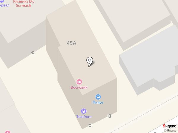 Мэри Кей на карте