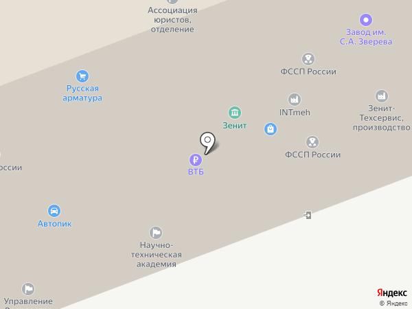 Управление Федеральной службы судебных приставов по Московской области на карте