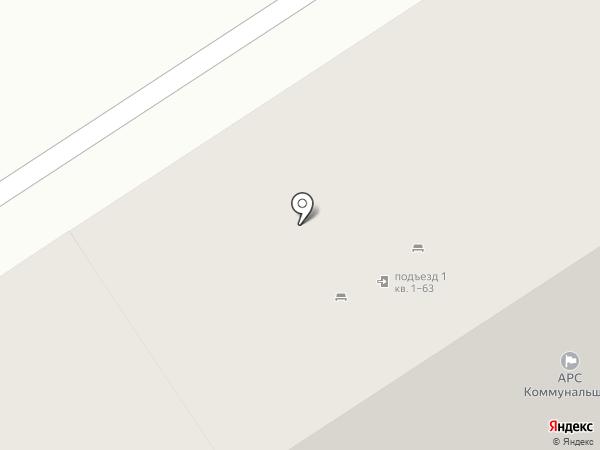 Коммунальщик на карте