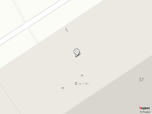 Лифт на карте