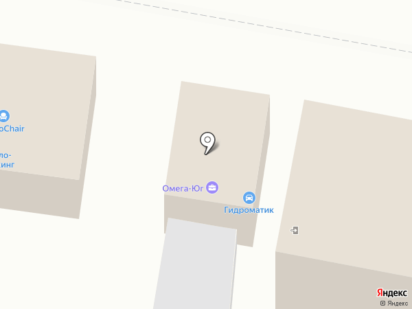 Гидроматик на карте