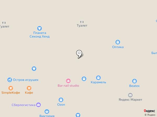 Карамель на карте