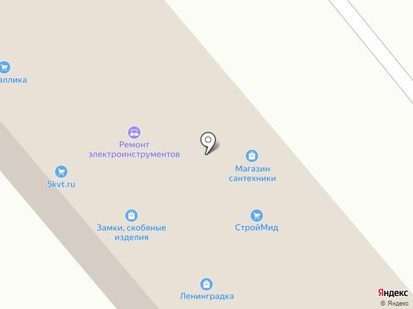 ЛенинградкА на карте