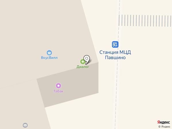 Красногорский хлеб на карте
