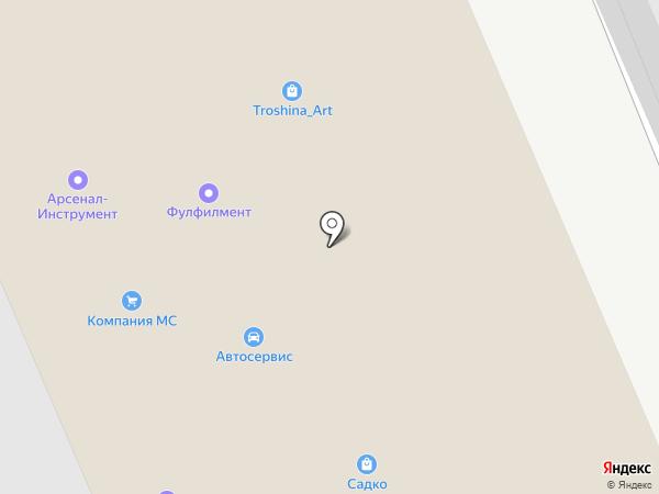 Московский Мазда-Клуб на карте