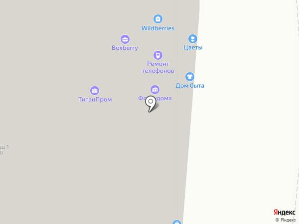 РЭМ на карте