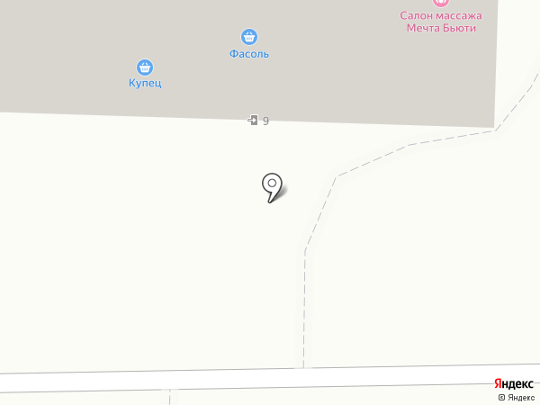 Фасоль на карте
