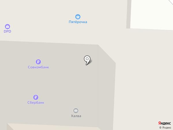 Виссон на карте