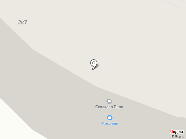 Сколково Парк на карте