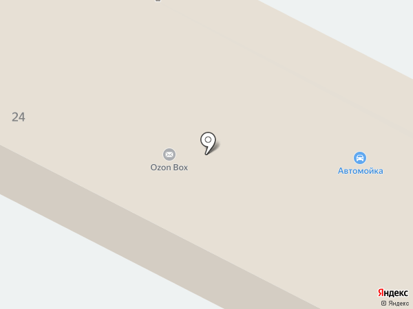 Автомойка на Текстильной на карте