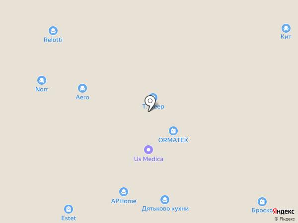 LightCrystals на карте