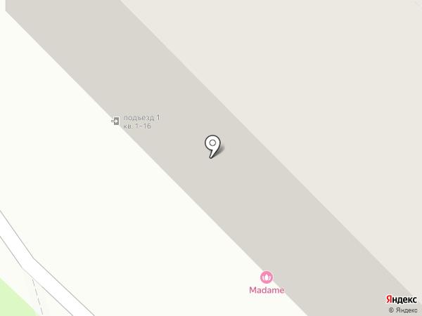 Madame на карте