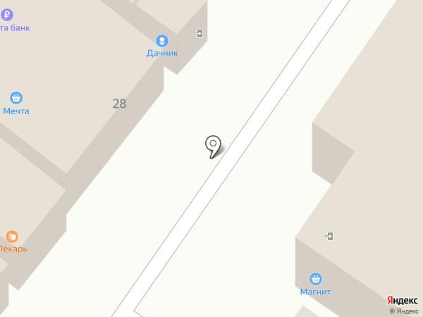 Доломит на карте