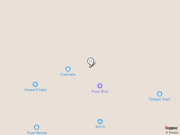 Вест Марин на карте